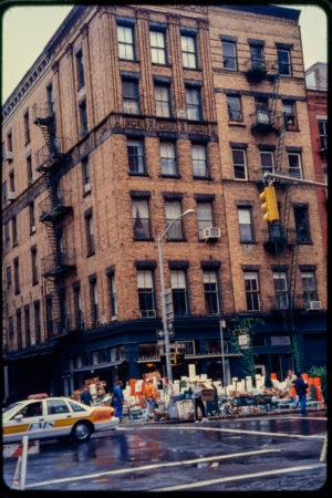 Facing Bubby_s at 120 Hudson from the Middle of Road on North Moore Street.jpg