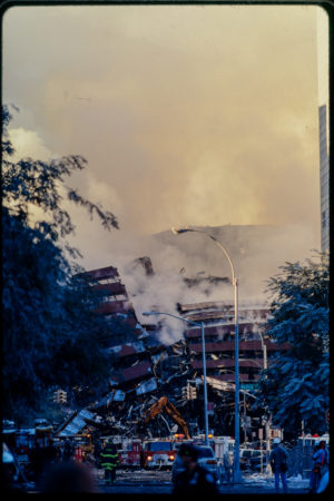 Fire Fighters Working at Collapsing WTC.jpg