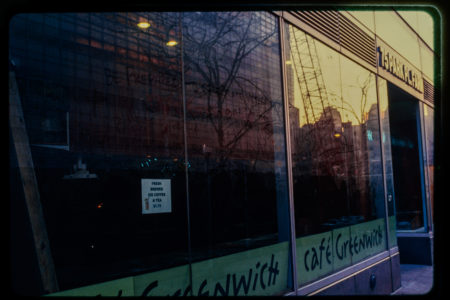 Messages on Window of Greenwich Cafe 75 Park Place Farm.jpg