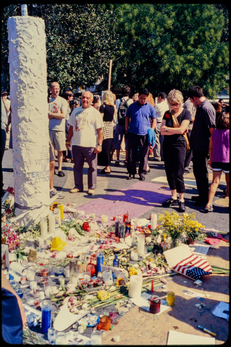 New Yorkers Visit Memorial For Victims of Attack in Union Square Park.jpg