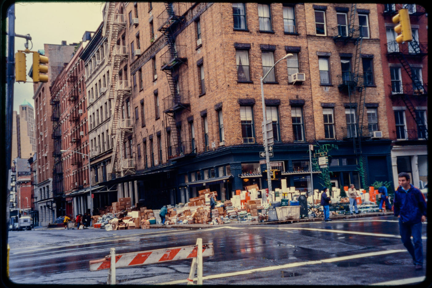 Packages and Supplies Outside Bubby_s on Hudson Street.jpg