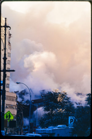 Smoke After Attack on 911 Over Street Traffic.jpg