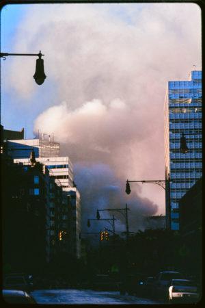 Smoke Rises as a Shadow is Cast Over Greenwich Street.jpg