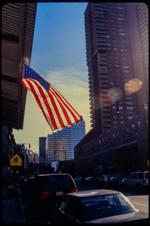The American Flag Flies in Rays of Sunlight.jpg