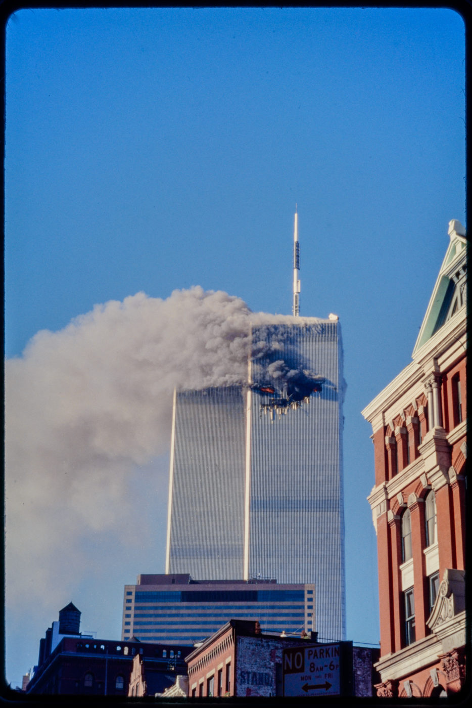 Tower 1 burning.jpg