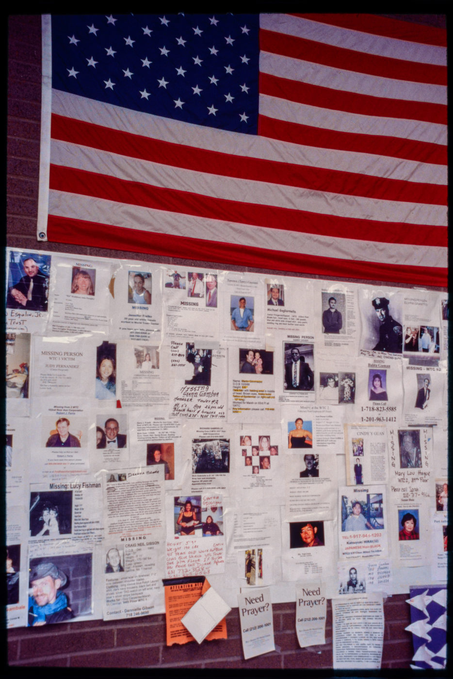 Vertical Angle of Hope and Remembrance Wall at St. Vincent_s Hospital.jpg