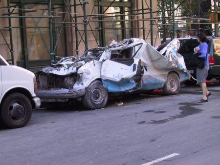 Crushed Con-Edison Vehicle.JPG