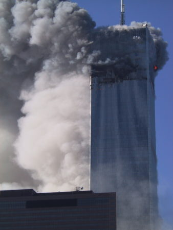 Smoke and Fire Pouring From Both Sides of WTC1 _ 2.JPG