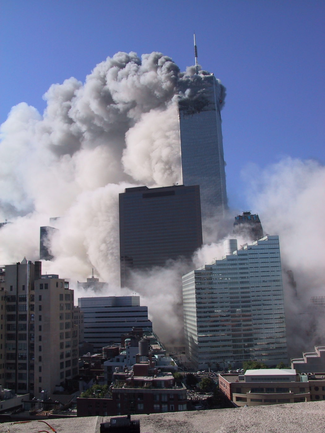 Smoke Coming From WTC1