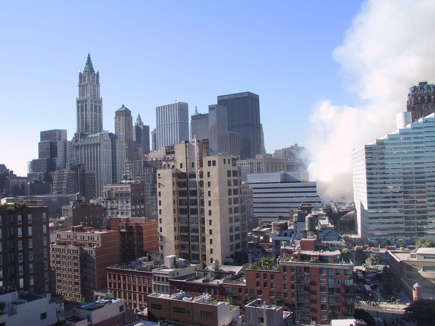 View of Smoke Lower Manhattan from 335 Greenwich Street.JPG