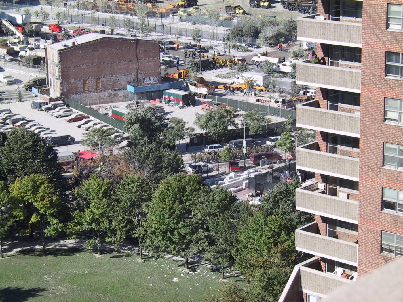 View Past 310 Greenwich Street towards Chambers Street from 335 Greenwich Street.JPG