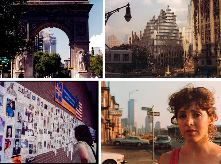 A sampling of 9/11 and World Trade Center photos from Village Preservation's historic image archive