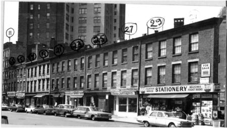 (l. to r.) 11-31 8th Avenue 1964
