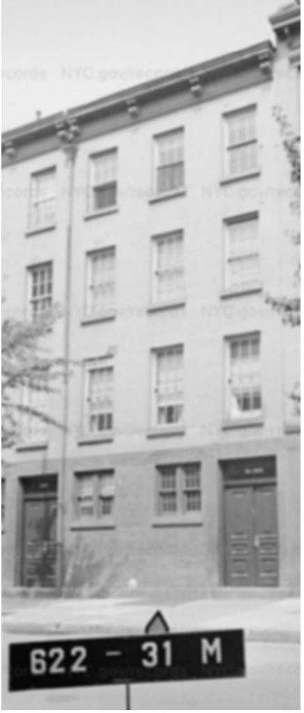 393 Bleeker St, 1940s Tax Photo