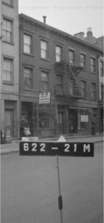 390 Bleecker St, 1940s Tax Photo