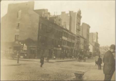 Corner of Spring and Thompson St, 1901
