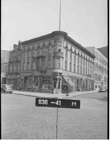 396 West Street, 1940s Tax Photo