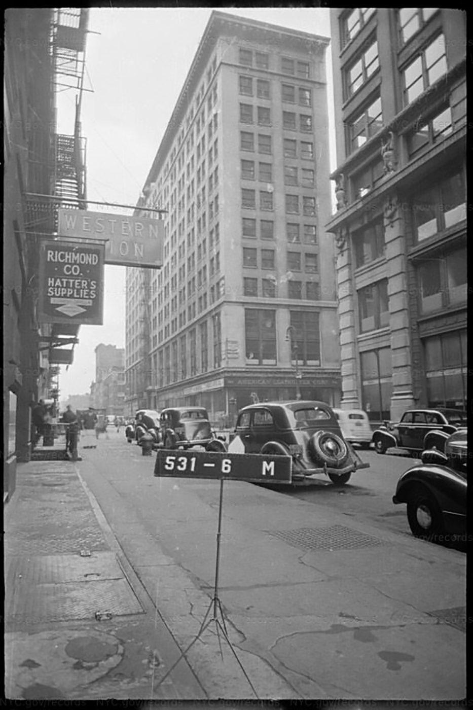 Silk Building 1940s, 692 Broadway