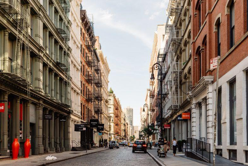 Street in SoHo/NoHo