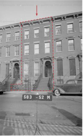 9 St. Lukes Place, 1940s Tax Photo