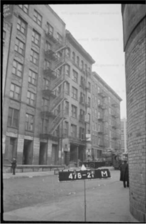 527 Broome Street, 1940s Tax Photo