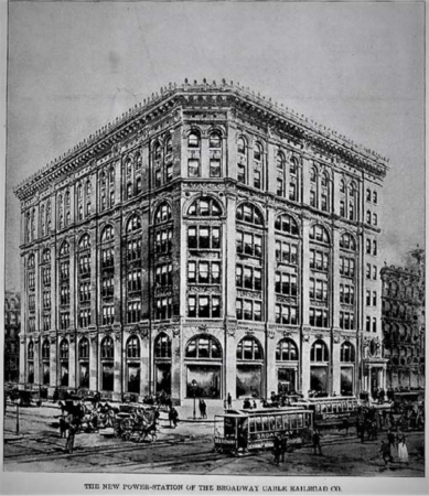 The Cable Building, 1892