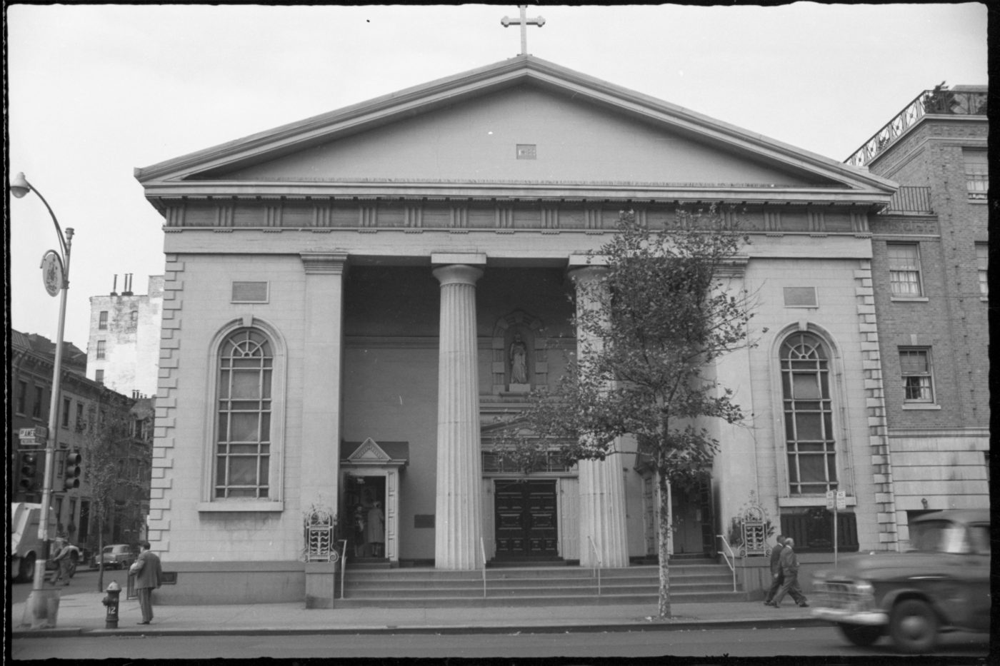 St. Joseph's Church, from the 1969 Greenwich Village Historic District report