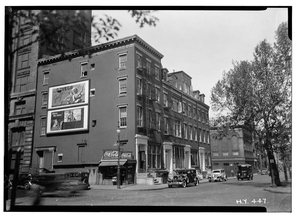 58-61 Washington Square South, 1936
